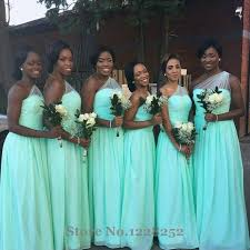 mint bridesmaid dresses newest mint green bridesmaid dress one shoulder sheer chiffon
