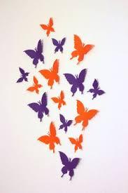 Butterfly Kids Room by Butterfly Wall Decor Purple And Aqua Paper Butterflies 3d