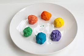 melting rainbow preschool science experiment
