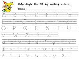 practice alphabet alphabet handwriting practice for kindergarten or 1st grade