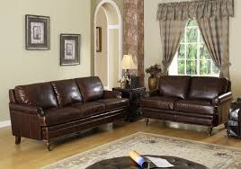 Leather Sofa For Small Living Room by Chocolate Brown Couch Decorating Ideaschocolate Brown Living Room