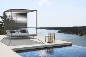 Outdoor Furniture Daybed Designer Garden Furniture For Outdoor Living U0026 Dining Rooms
