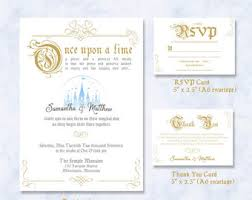 fairytale wedding invitations fairytale wedding invitations etsy