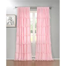 Single Window Curtain by Window Curtains Color Finish Pinks Goingdecor