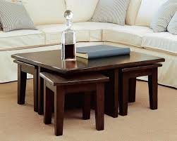 rectangle coffee table with stools coffee tables with stools underneath decor of coffee table with