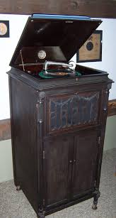victrola record player cabinet phonograph room vermont