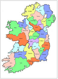 Counties Of England Map by The Counties Of Ireland U2013 Antrim To Dublin U2013 Introduction