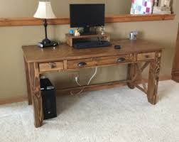 Rustic Writing Desk by Writing Desk Etsy