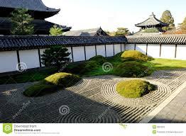 japan zen garden stock photography image 8003062