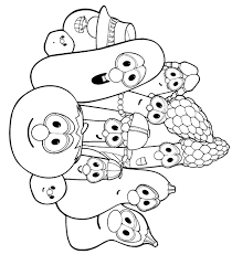 veggie tales coloring pages pirates archives veggie tales