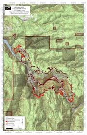 Oregon Wildfire Map by 36 Pit Fire Slows To Crawl 30 Contained Koin 6