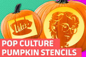 pop culture pumpkin stencils 2016 best culture 2017