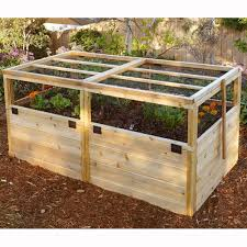 outdoor living today raised cedar garden bed 8 x 12 ft hayneedle