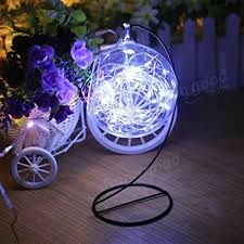 arilux battery powered 8 modes waterproof 50 leds copper wire