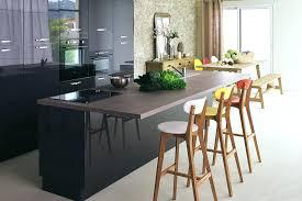 table ilot cuisine haute tabouret de cuisine alinea table haute cuisine alinea chaise haute