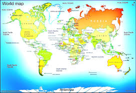 Large World Map Poster by World Map Outline High Resolution Vector Eps Vectors Due To Earth