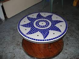 table basse touret bois touret en mosaïque le blog de g6k