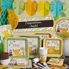 lion king baby shower supplies our sweet circle of party supplies will make your lion king