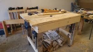 Carpentry Work Bench My Samurai Carpenter Inspired Workbench Youtube