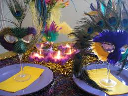 mardi gras ideas mardi gras table setting ideas oh my creative