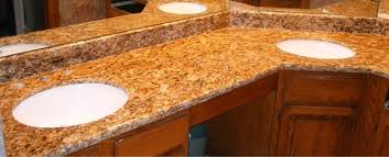 Granite Vanity Tops With Undermount Sink L U0026 E Stone And Kitchen Supply Columbus Kitchens