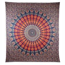Beach Rug Manta Mandala Indian Tapestry Boho Washable Rug Tapestry Inaidan