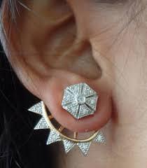 ear cuffs online shopping buy half ear cuffs in american diamond eg083 stud online ear