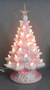 small pink christmas tree small ceramic christmas tree with lights amodiosflowershop