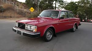 volvo coupe 82 volvo 242 dl coupe 240dl 240 262 1 owner xlnt manual 5 speed