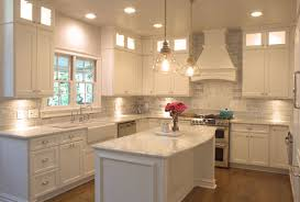 travertine countertops soffit above kitchen cabinets lighting