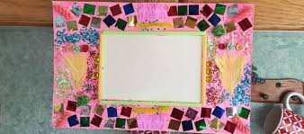 how to make collage picture frames for kids persil