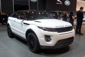 black land rover with black rims evoque black design pack auto express
