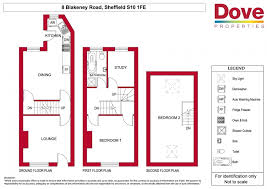2 Bed Property To Let S10 1fe Dove Properties Small House Plan Map