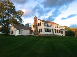 colonial farmhouse plans federal colonial farmhouse plus guesth house plans new