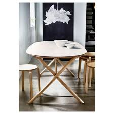 ikea masa slähult table white dalshult birch 185x90 cm ikea