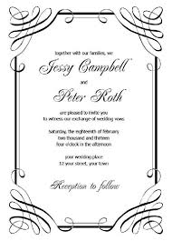 vintage wedding invitation card template free download best