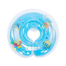 Bath Accessories Babies by Ipree Inflatable Baby Infant Swimming Neck Float Ring Newborn