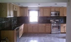 kitchen flooring idea kitchen flooring ideas with oak cabinets