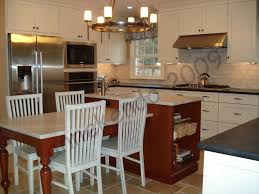 kitchen island with attached table 15 beautiful kitchen island with table attached beautiful