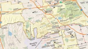 Griffith Park Map Council District 4 David Ryu La City Council