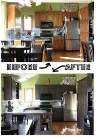 Painting Kitchen Cabinets Before Amp by 25 Best Remodeling Before U0026 After Images On Pinterest Home Diy