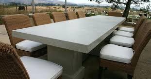 Concrete Patio Table Concrete Patio Table Amazing Of Concrete Patio Furniture