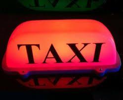 Taxi Light Taxi Roof Sign Lighting U0026 Lamps Ebay