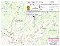 Letchworth State Park Map by Finger Lakes Trail Conference The Reach Of Digital Mapping