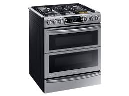 shop at the home depot and save on fuel 5 8 cu ft slide in dual fuel range with flex duo and dual door