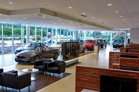 bmw dealership interior checkered flag bmw store project nears finish line retail
