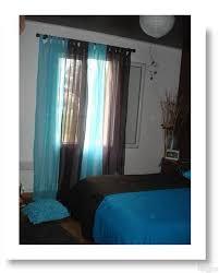 chambre turquoise et marron wonderful chambre turquoise et taupe 5 rideau bleu turquoise