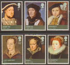 sg2924 2929 2009 kings u0026 queens house of tudor stamp set