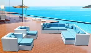 Modern Patio Furniture Cheap by Outdoor Lux White Sofa Modern Patio Furniture And Outdoor