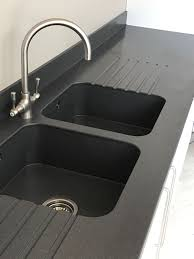 Solid Surface Sinks Kitchen by Kitchen Solid Surface Sink Run In Staron Colour Quarry Starred